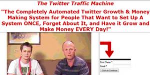 Twitter Traffic Machine